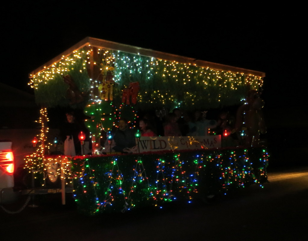 4h Christmas float