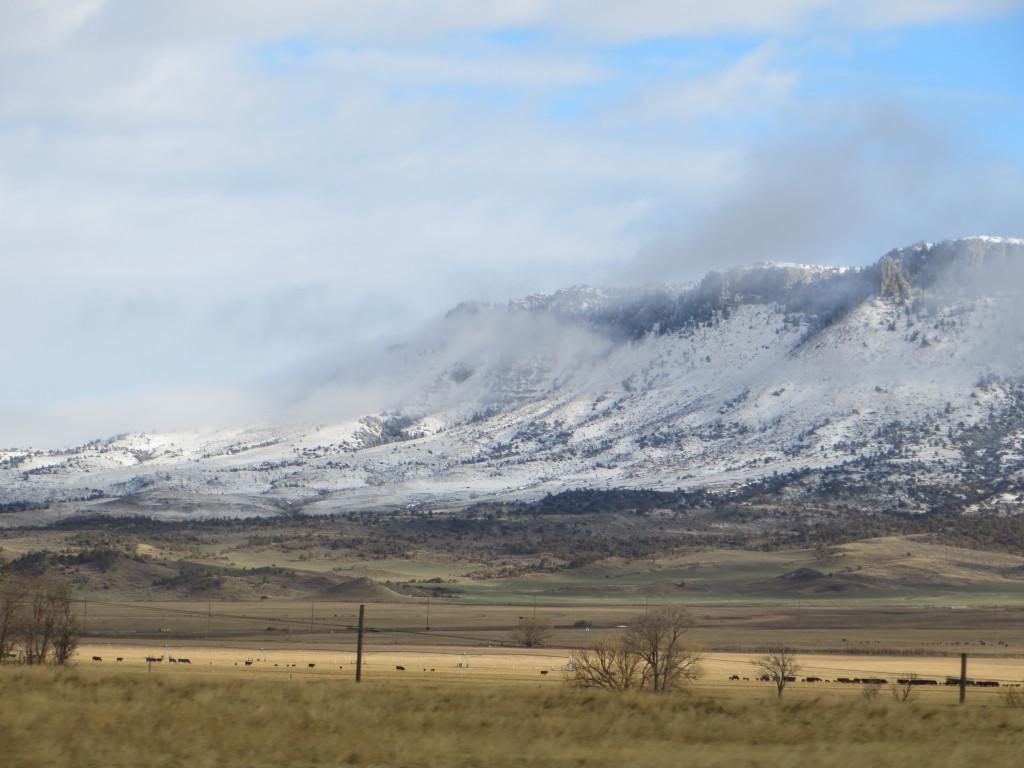 Montana rimrock