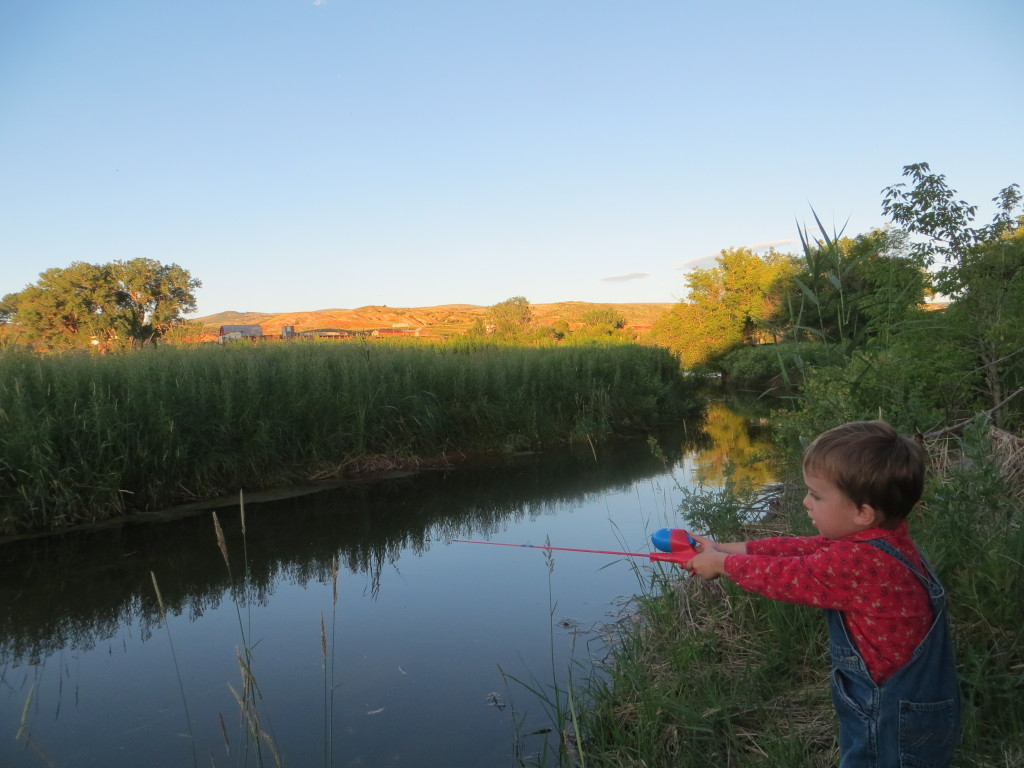 Quinlan fishing