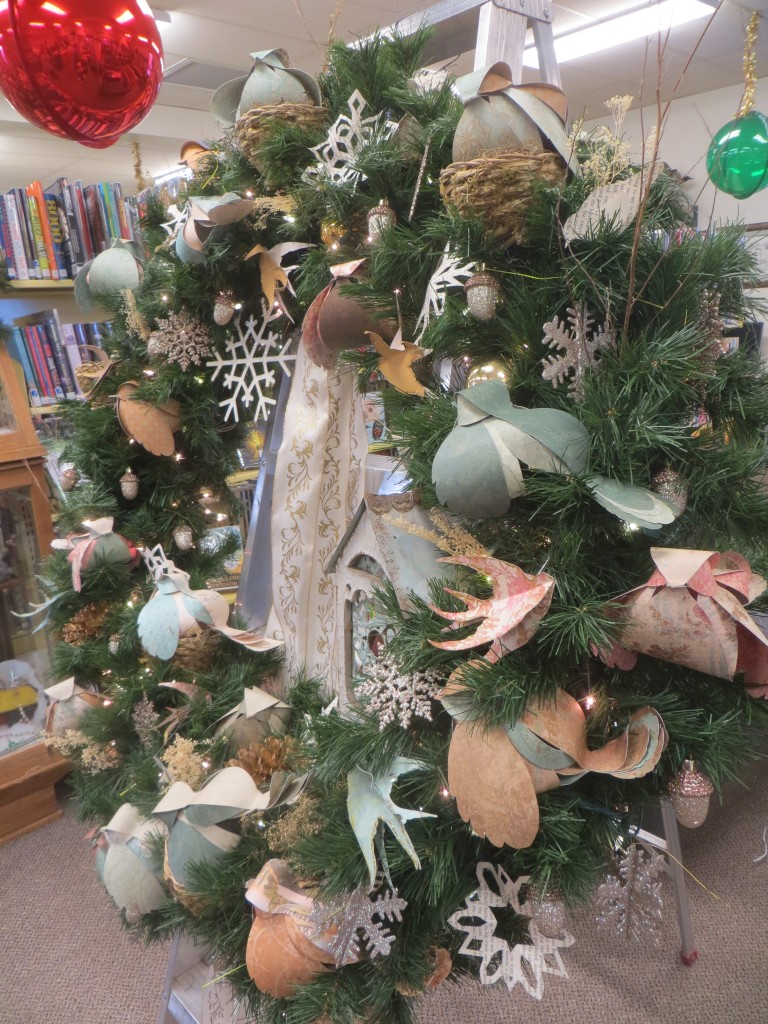 library wreath