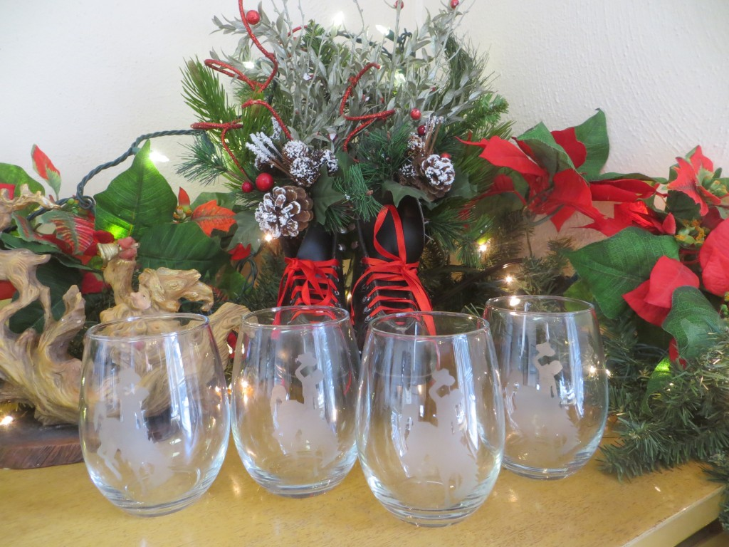 Steamboat wine glasses