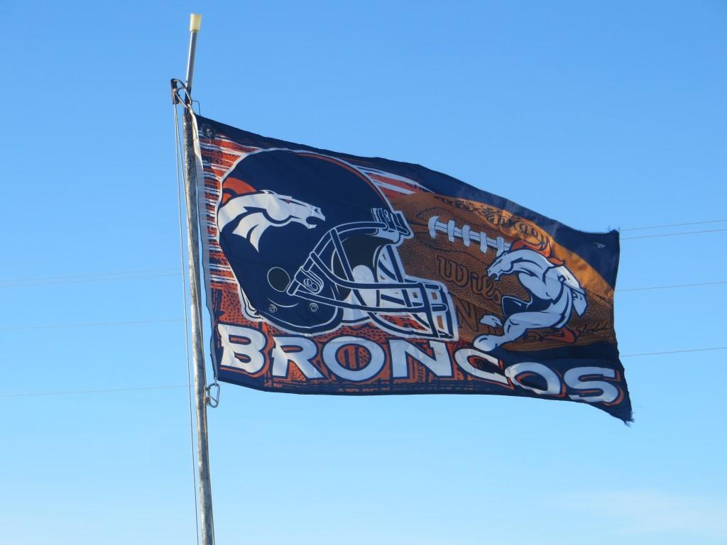 bronco flag
