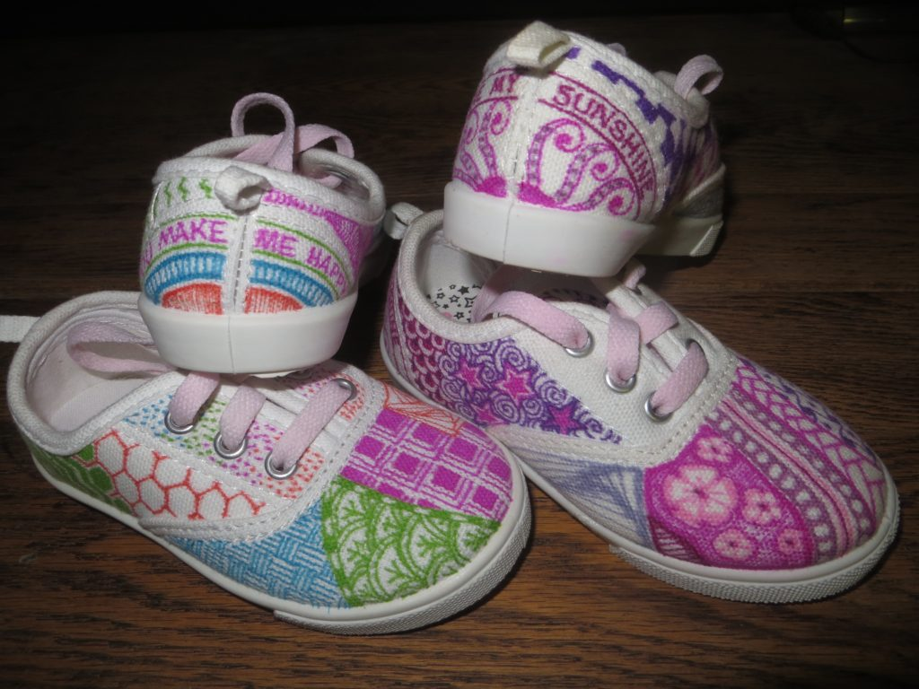 zentangle shoes
