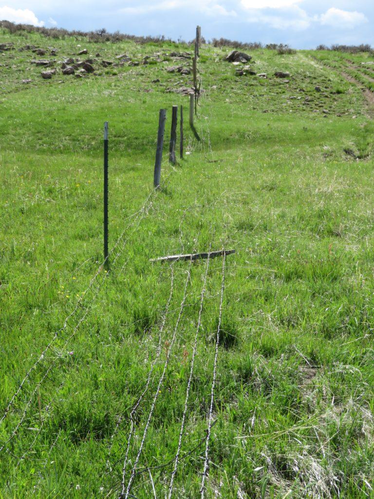 laydown fence
