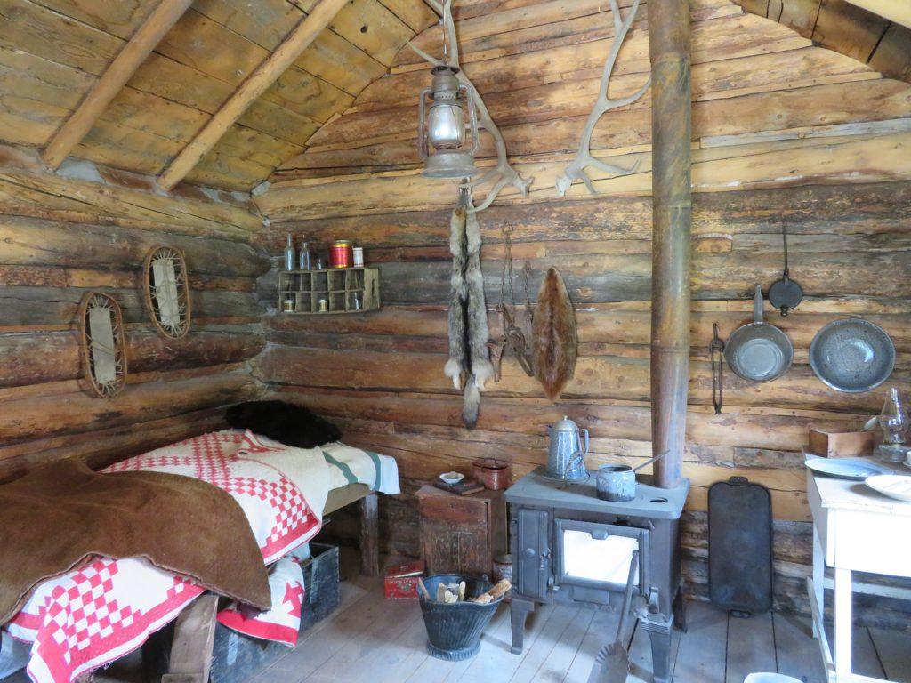 interior miner cabin