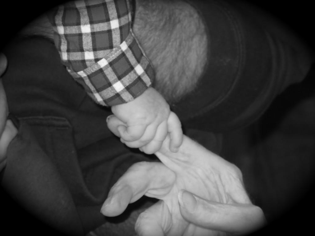 Jaxon and George fingers