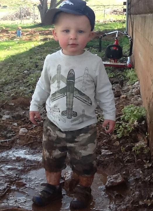mud puddles