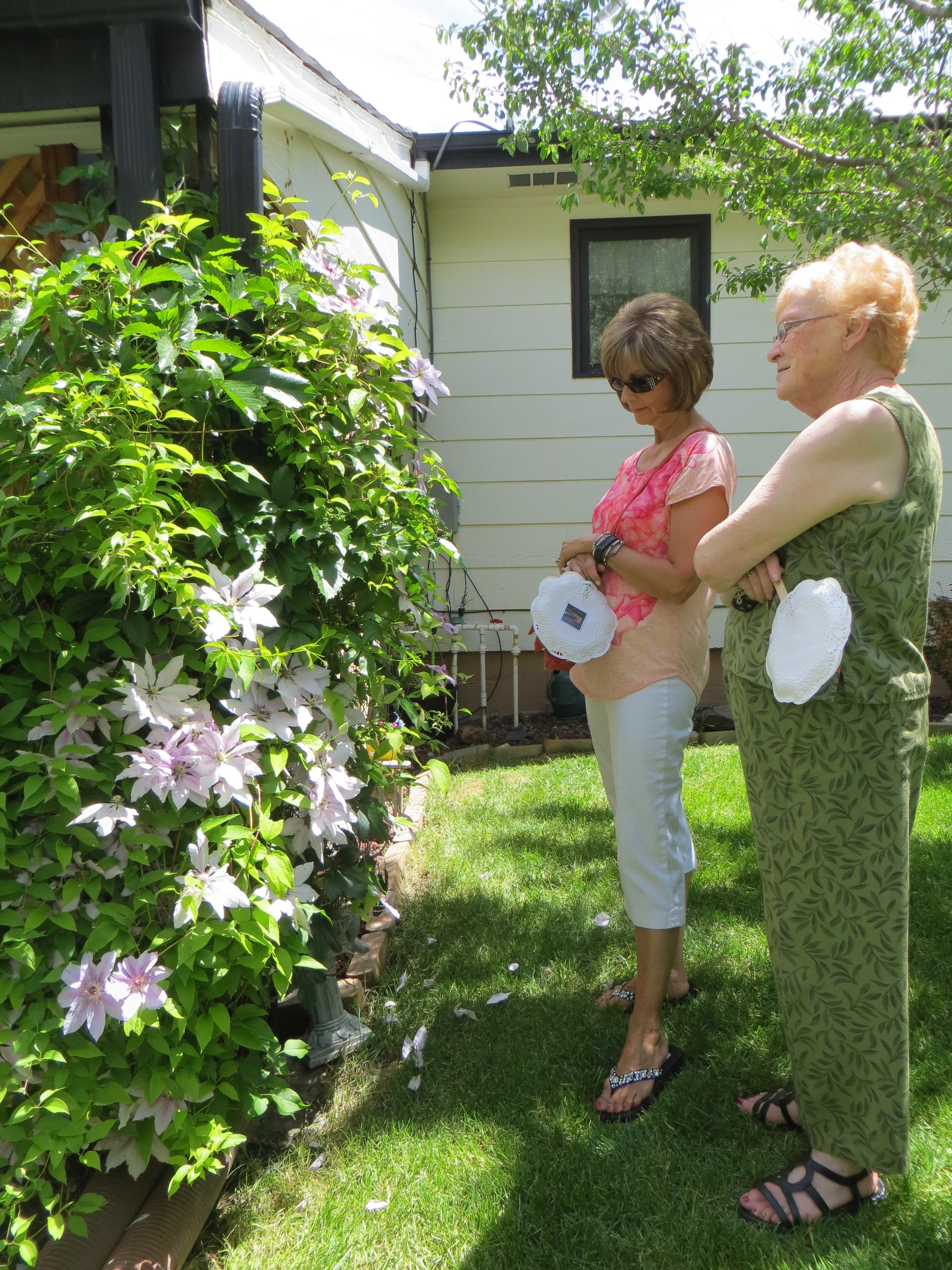 Jerri Burton Memorial Garden Walk 2014