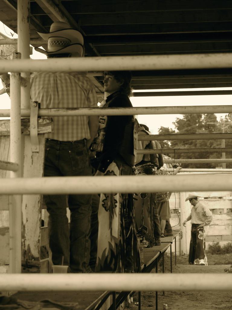 behind chutes