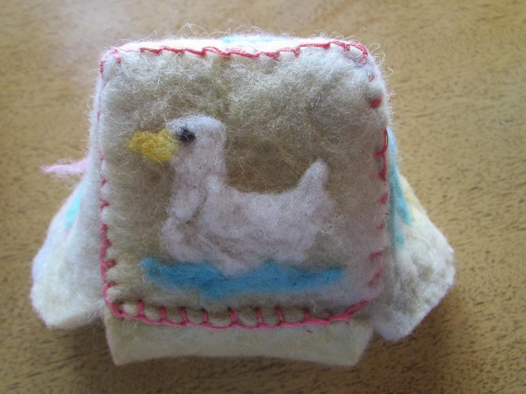 woolen block