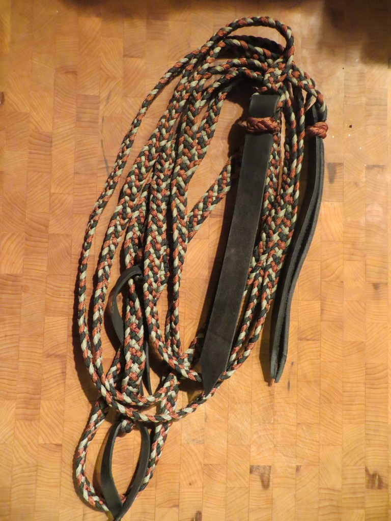 braided reins