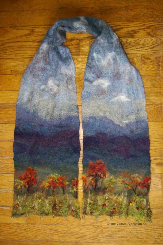 landscape scarf